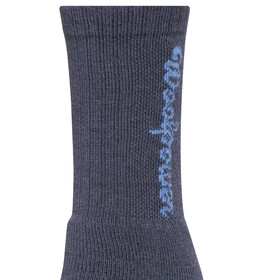Woolpower 400 Logo Socks Unisex dark navy
